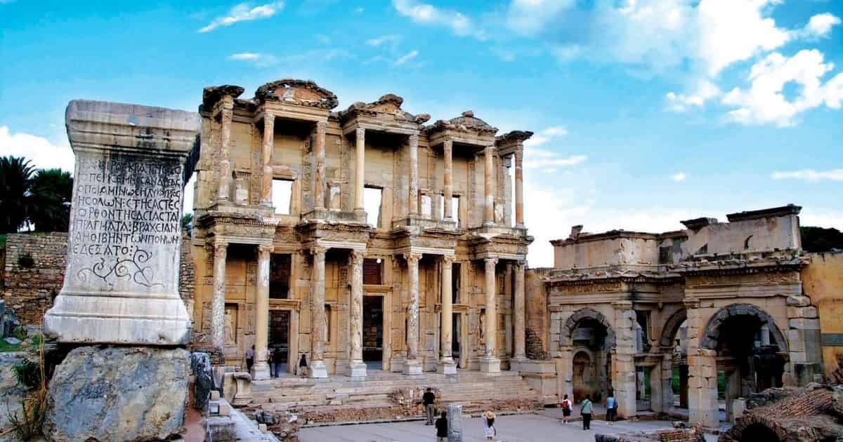 Day 1 - Fly from Istanbul to Izmir and Ephesus Tour