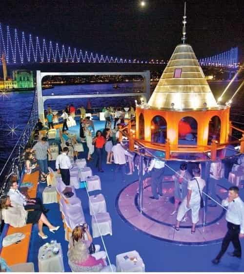 Istanbul Dinner Cruise on Bosphorus