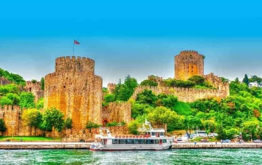 Day 2 - Bosphorus Cruse Istanbul