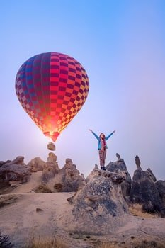Cappadocia Hot Air Balloon Ride 1 Hour Flight