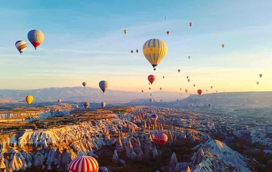 Optional - Cappadocia Hot Air Balloon Ride
